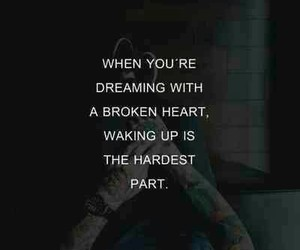 broken, broken heart, and Dream image
