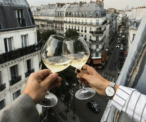 beauty, paris, and view image