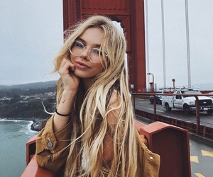 fashion, accessories, and blonde image