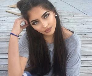 hair, eyes, and makeup image