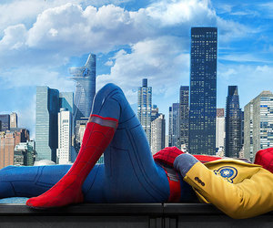 comics, Marvel, and spider-man homecoming image