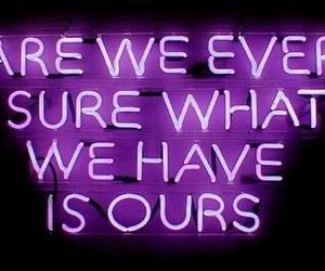 aesthetic, glow, and quotes image