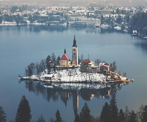 Island, travel, and winter image