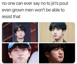 cuuute, jin, and bts image