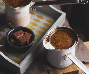 cozy, melted chocolate, and hot cocoa image