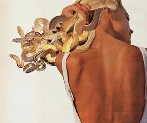 medusa, mythology, and snake image
