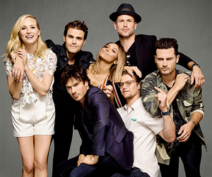 ian somerhalder, the vampire diaries, and candice accola image