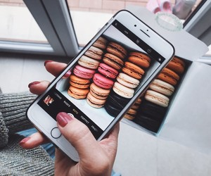 food, iphone, and nails image