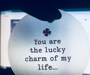 I Love You, lucky, and quote image