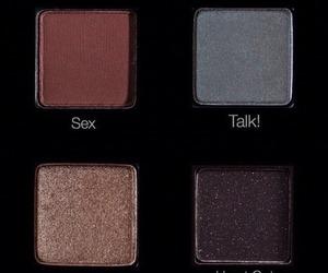 theme, makeup, and dark image