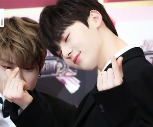minhyun and wannaone image