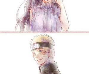 anime, hinata, and naruto image