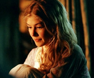 blonde, pride and prejudice, and rosamund pike image