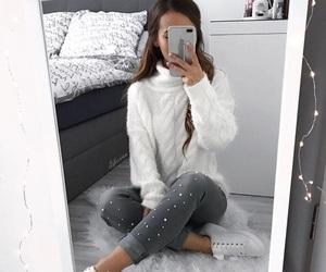 clothes, fashion, and haïr image