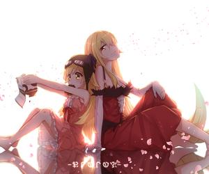 anime, kawai, and kiss shot image