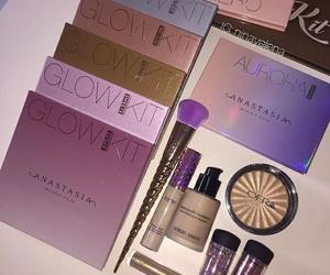 makeup, glow, and highlight image