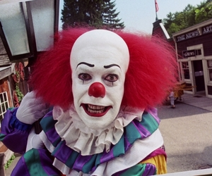 1990, pennywise, and clown image