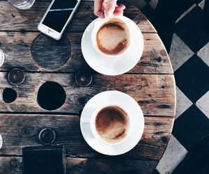 cafe, coffee, and happiness image