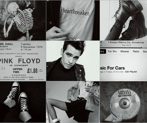 black and white, brendon urie, and emo image