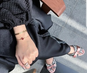 bracelet, ring, and shoes image
