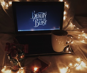 90s, aesthetic, and beauty and the beast image