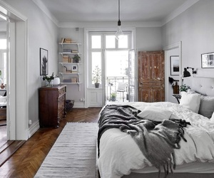 home, bedroom, and house image