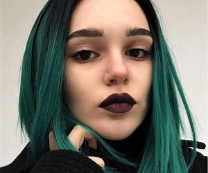 alternative, color hair, and colored hair image