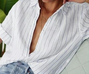 closet, fashion, and white shirt image
