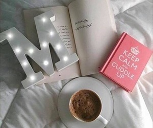 beautiful, bed, and tea image