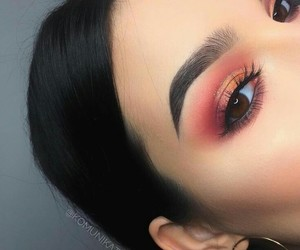 eye, eyeshadow, and fashion image