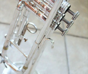 brass, instruments, and music image