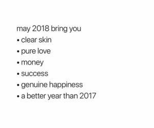 happy, new year, and 2018 image