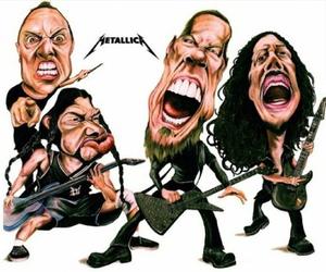 band, James Hetfield, and thrash image