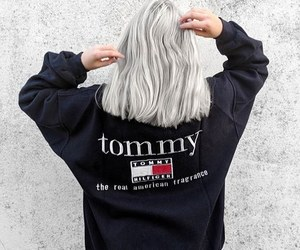 fashion, girl, and tommy image