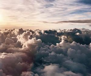 beauty, blue, and sky image