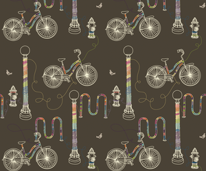 background, bicycles, and bike image