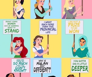 disney, quotes, and feminism image