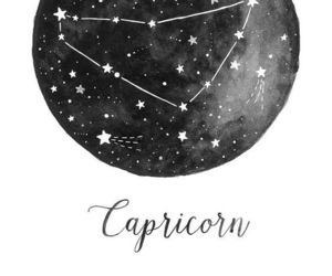 constellation, drawing, and capricorn image
