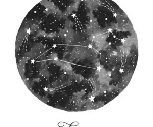 aesthetic, drawing, and zodiac signs image