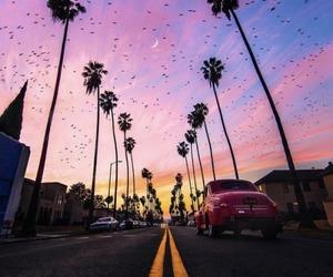 aesthetic, la, and travel image