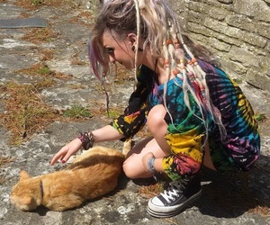 cat, creepers, and dreadlocks image
