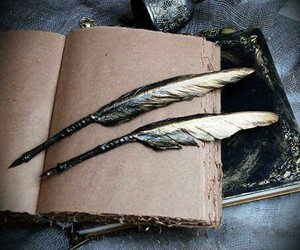 ravenclaw and feather image