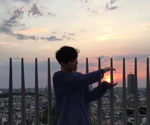 asian, sky, and skyline image