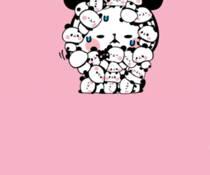 kawaii, panda, and wallpaper image