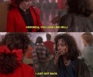 Heathers, quotes, and movie image