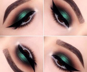 beauty, eyeshadow, and live image
