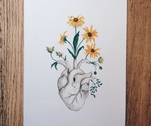 art, Easy, and heart image