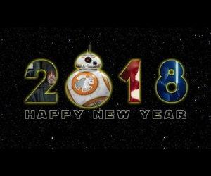 george lucas, new year, and star wars image