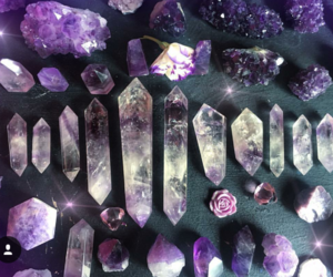 beauty, crystals, and healing image