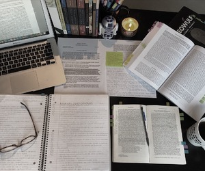 school, studyblr, and study image